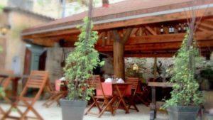 Manger de la viande bio au restaurant le saint jacques de Bergerac