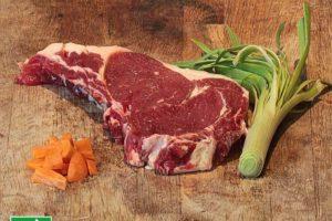 Entrecôte de bœuf bio