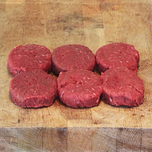 Galettes de bœuf bio assaisonnées x2