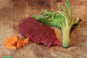 Steak de boeuf bio